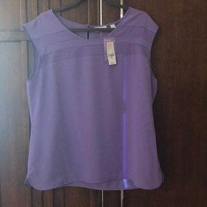 NWT light purple blouse